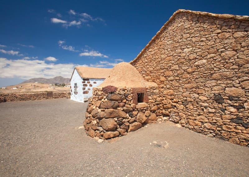 Fuerteventura intérieur, La Alcogida d'Ecumuseo de musée d'air ouvert images stock