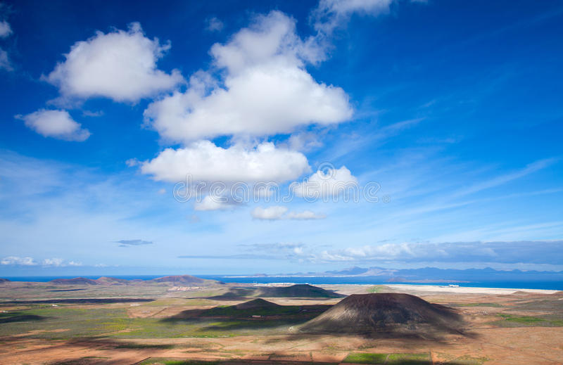 Fuerteventura interno imagem de stock royalty free