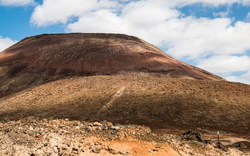 Fuerteventura - isola vulcanica immagini stock