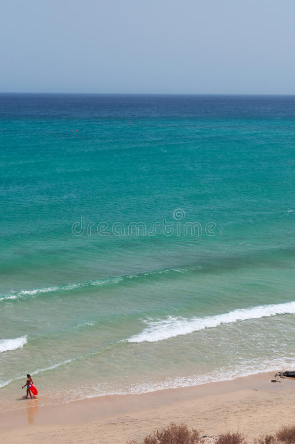 fuerteventura, Isole Canarie, Spagna fotografia stock libera da diritti