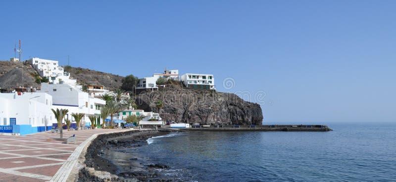 Fuerteventura Las Playitas bulwar 1 obrazy royalty free