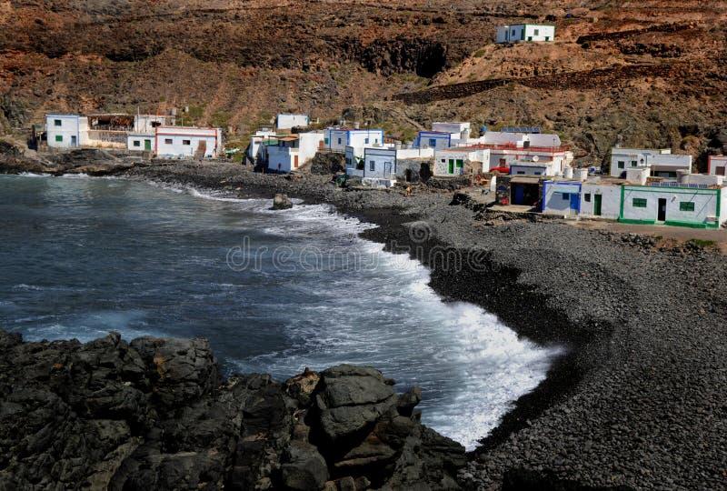 Fuerteventura, Los Molinos στοκ εικόνα με δικαίωμα ελεύθερης χρήσης