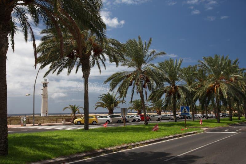 Fuerteventura, Moro Jable royalty-vrije stock afbeeldingen