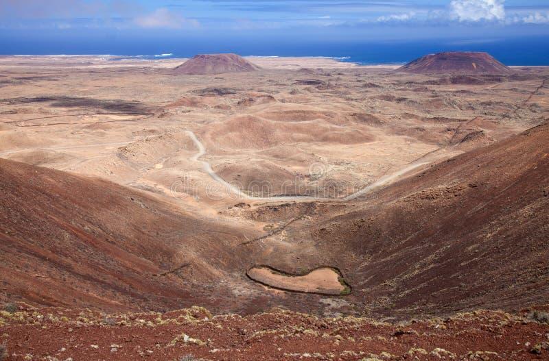 Fuerteventura nordique photo stock