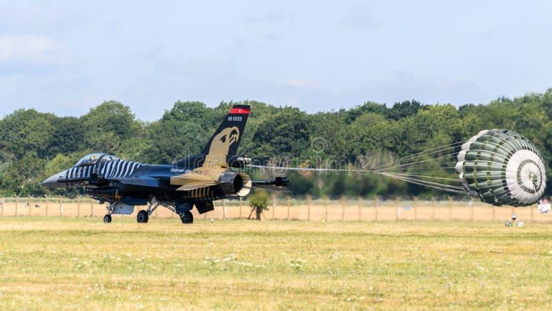Fuerza aérea turca F-16C fotografía de archivo libre de regalías