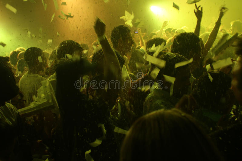 Download Fuerza Bruta In Buenos Aires Editorial Stock Image - Image of music, foreground: 17226504