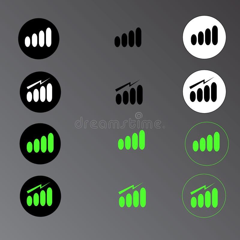 Fuerza de señal ilustración del vector