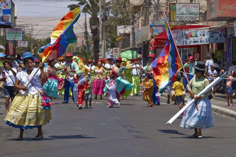 Fuerza del Solenoide em Arica, o Chile fotos de stock royalty free