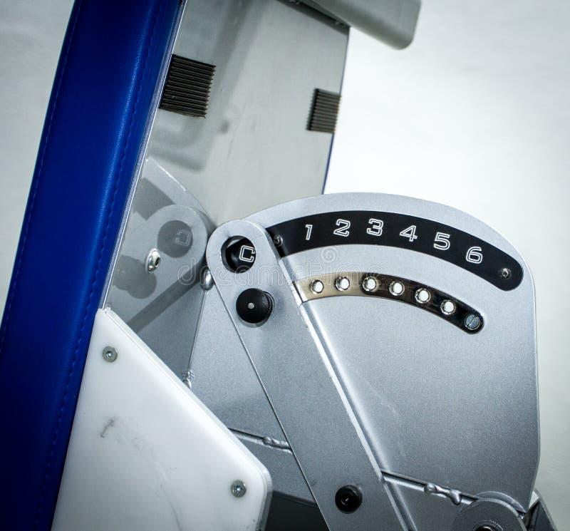 Fuerza e inclinación en una máquina apta fotografía de archivo libre de regalías