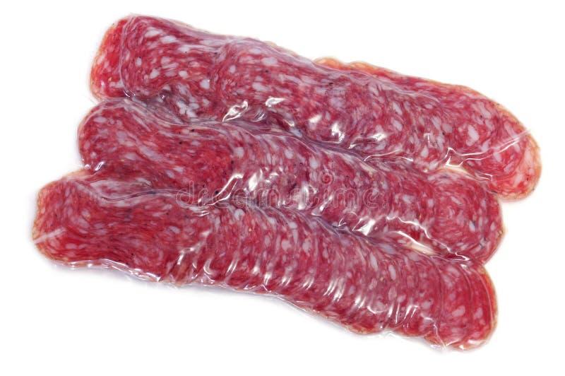fuet salami spanish obraz royalty free