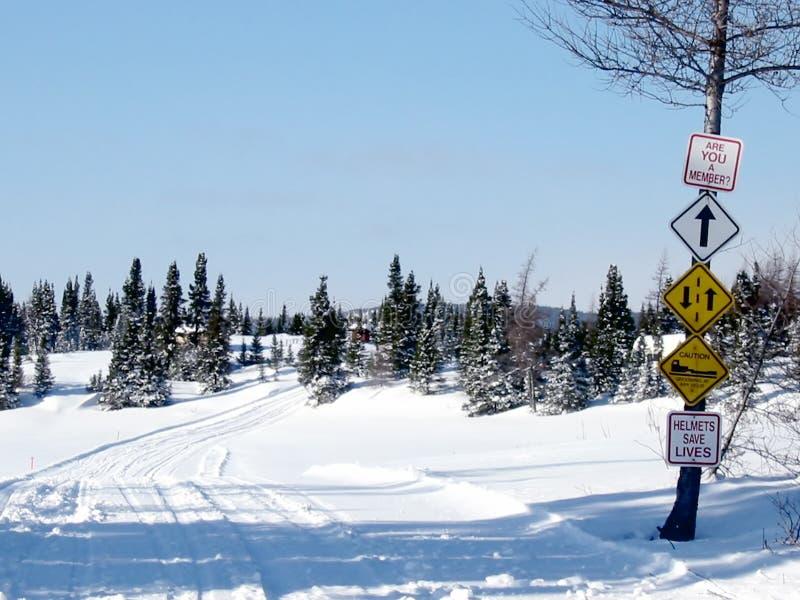 Fuga ao ar livre do inverno imagens de stock