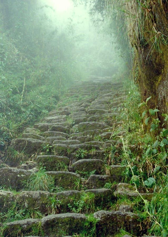 Fuga do Inca foto de stock