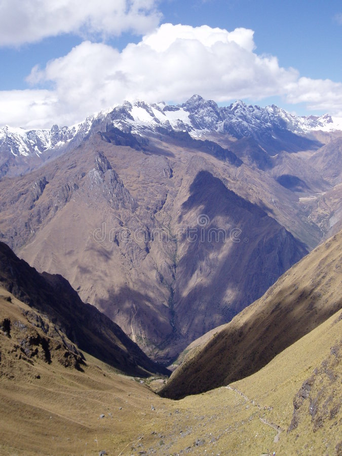 Fuga do Inca imagem de stock