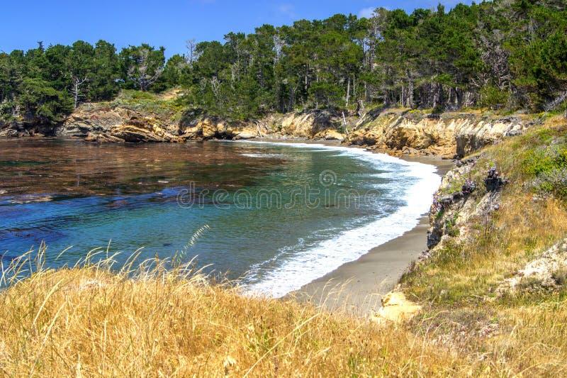 Fuga do ponto de Granit, reserva do estado de Lobos do ponto fotos de stock royalty free