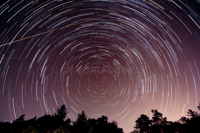 Fugas da estrela em Indiana fotografia de stock royalty free