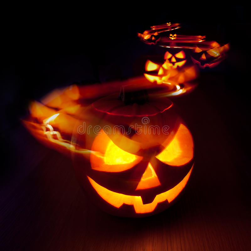 Fugas de Halloween imagens de stock royalty free
