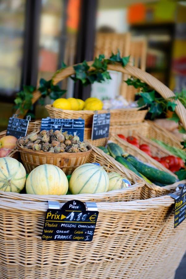 Fuit e verdure freschi fotografie stock