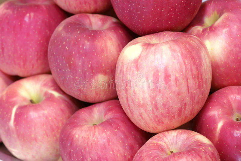 Fuji äpple arkivfoton