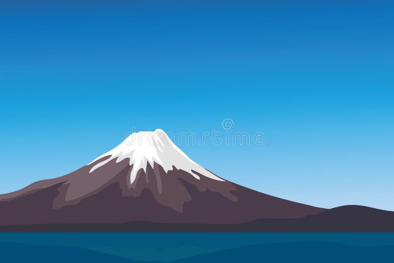 Fuji lizenzfreie abbildung