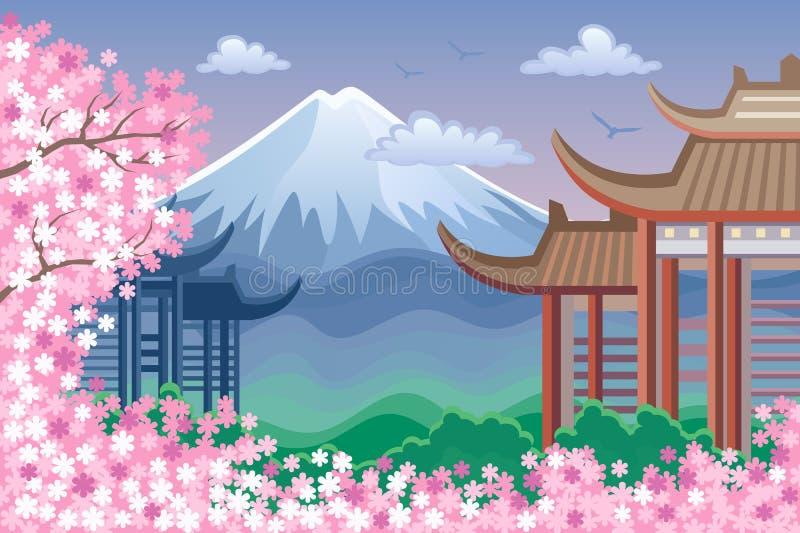 Fuji illustration libre de droits