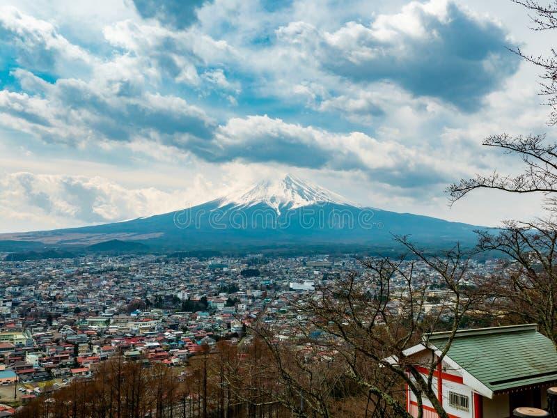 Fuji berg Japan arkivfoton