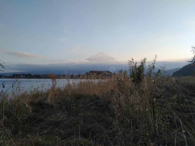 Fuji bergsikt i Japan royaltyfria bilder