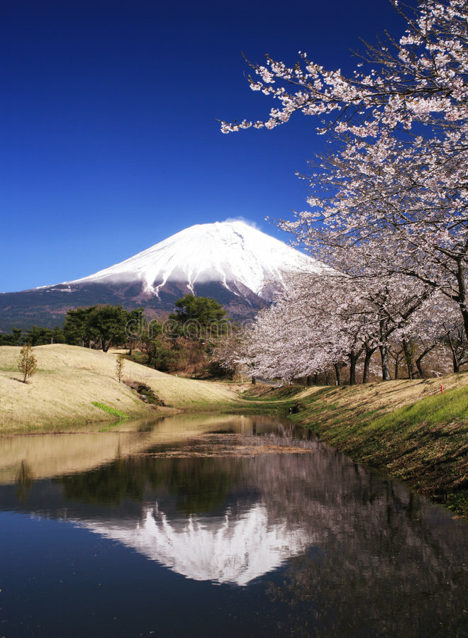 Fuji-dg 61 de Mt images libres de droits