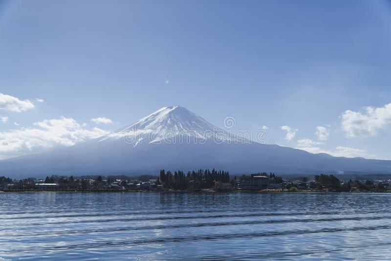 Fuji mountain at shizuoka , Japan. Where is afavorite for the tourist go to Japan stock photos