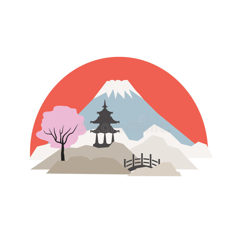 Fuji mt fotografie stock