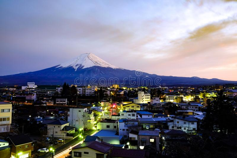 Fuji san, Giappone immagini stock libere da diritti