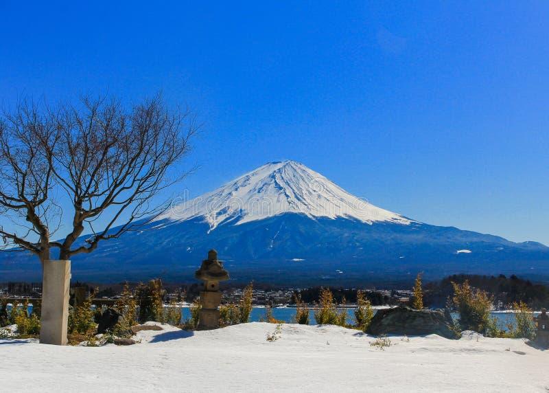 Fuji San, Japan stock afbeelding