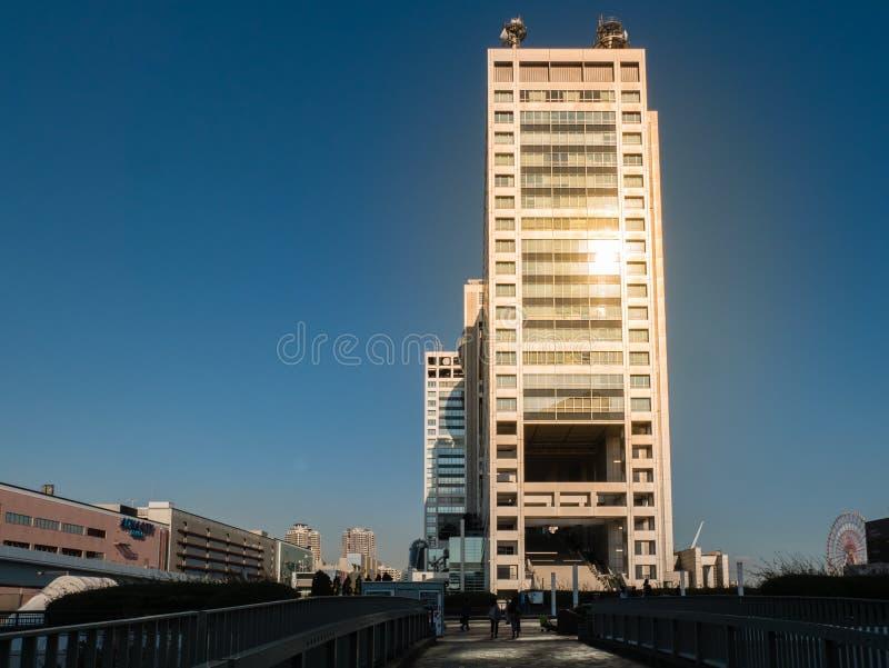 Fuji TV Building On Odaiba Island Editorial Stock Image - Image of