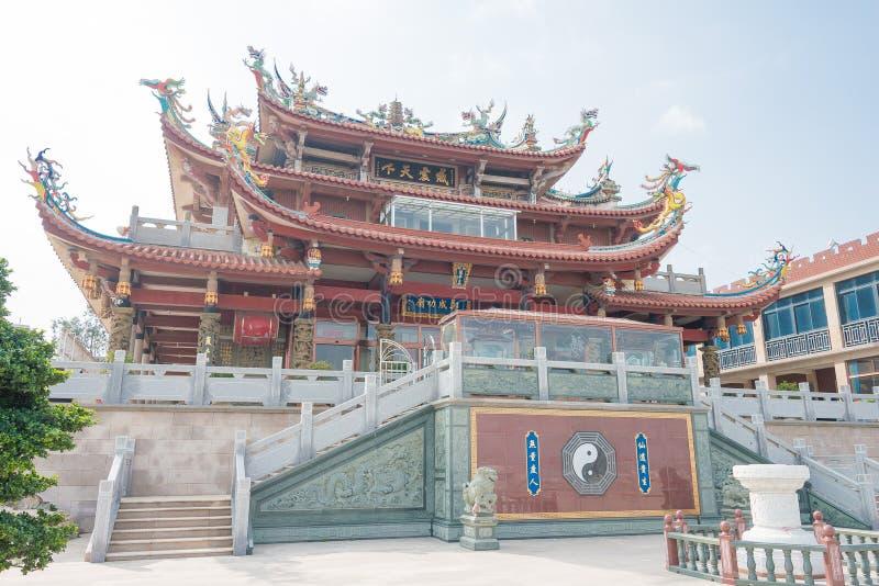 FUJIAN, CHINE - 31 décembre 2015 : Zheng Chenggong Temple un célèbre salut images stock