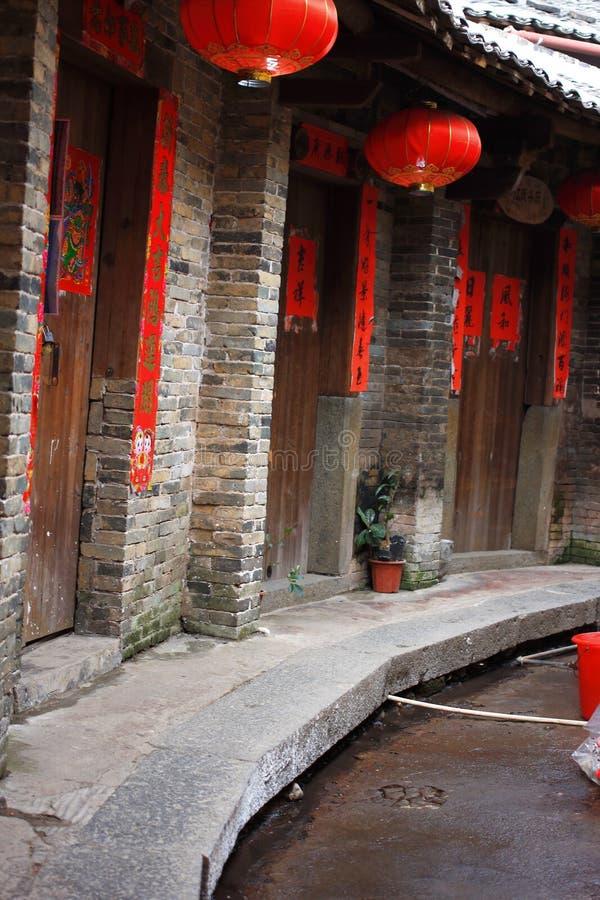 Fujian earthen struktury obraz stock