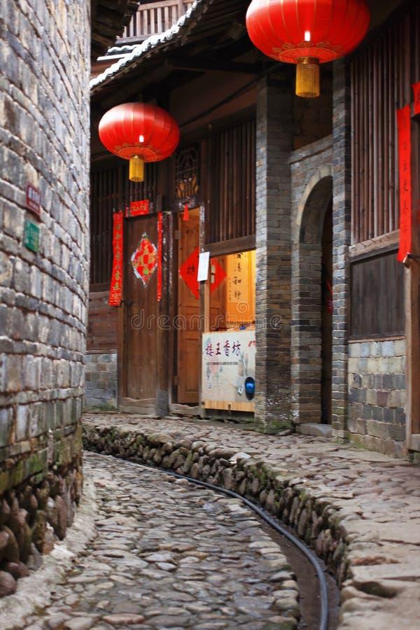 Fujian earthen struktury zdjęcia royalty free