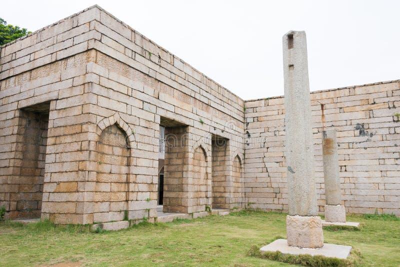 FUJIAN KINA - December 26 2015: Qingjing moské ett berömt historiskt arkivbilder