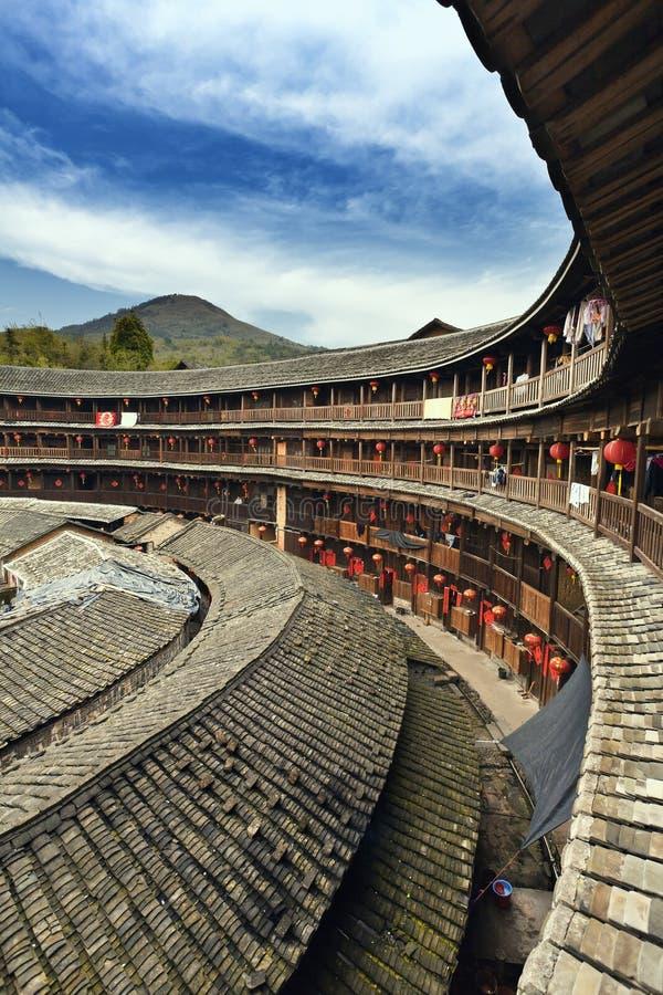 Fujian tulou stock photo