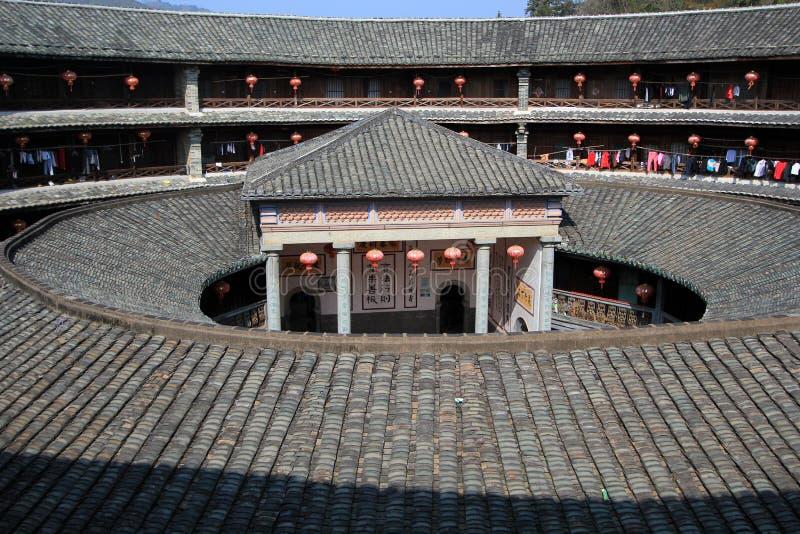 Fujian tulou fotografia royalty free