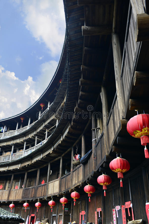 Fujian Tulou photographie stock