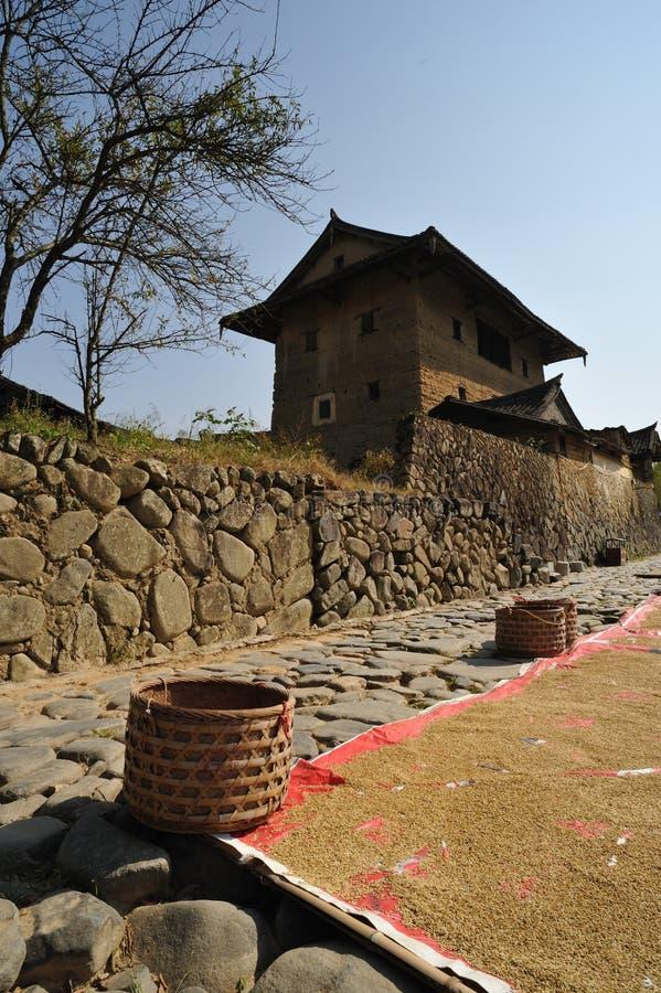 Fujian Tulou fotografía de archivo libre de regalías
