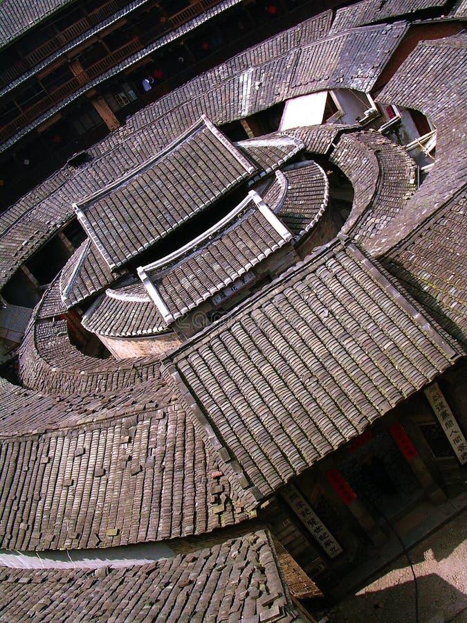 Fujian Tulou stockbilder