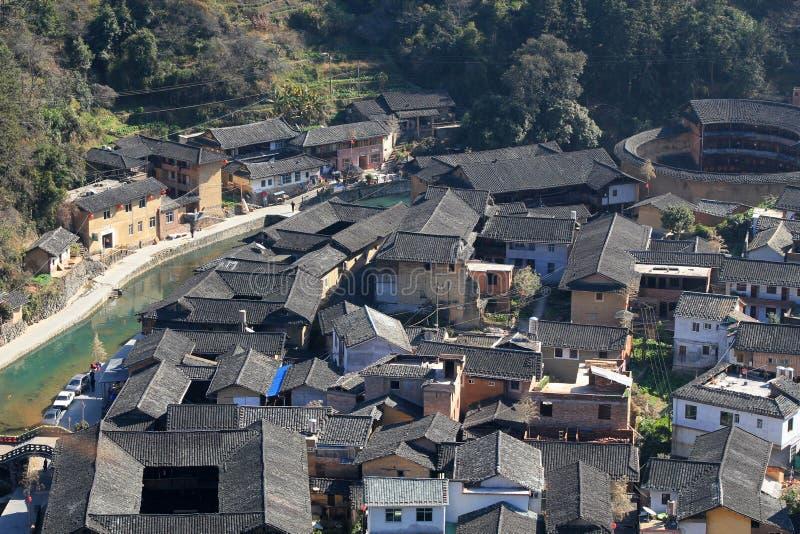 Fujian tulou Chenqi στοκ φωτογραφίες με δικαίωμα ελεύθερης χρήσης