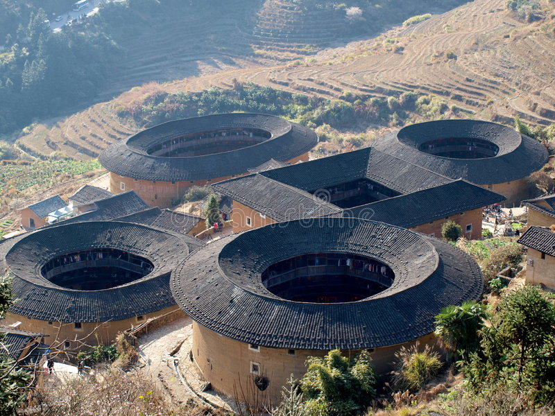 Download Fujian Tulou-special Architecture Of China Stock Photo - Image: 8348852