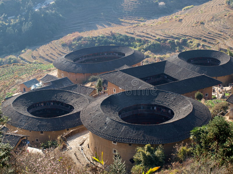 Download Fujian Tulou-special Architecture Of China Stock Photo - Image: 8614148