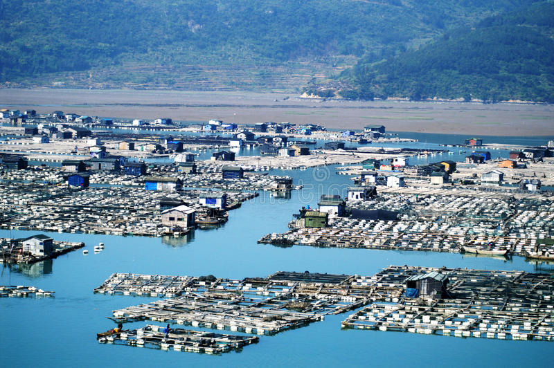 Download Fujian Xiapu stock image. Image of coast, fujian, aerial - 15665165