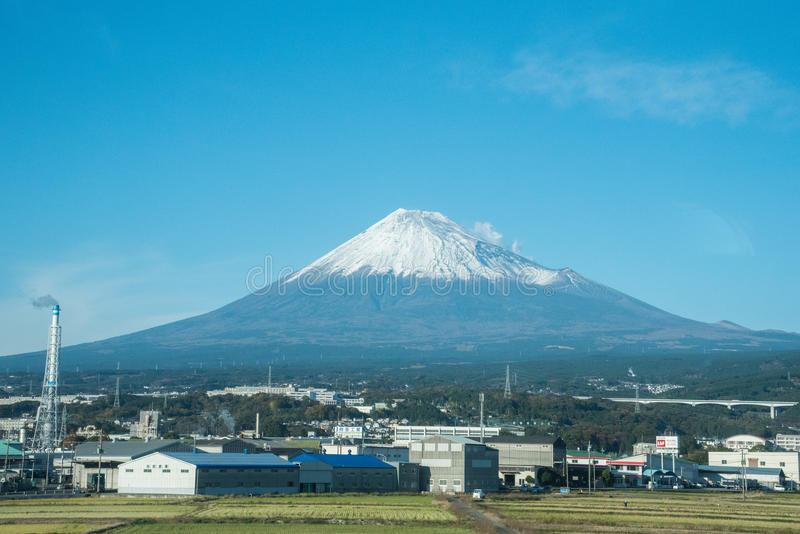 Fujiberg in Japan royalty-vrije stock fotografie