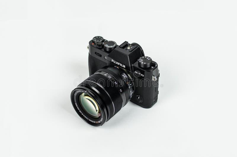 Fujifilm Camera On White Free Public Domain Cc0 Image