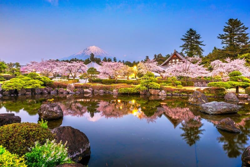 Fujinomiya, Shizuoka, Japon : le Mont Fuji photos libres de droits