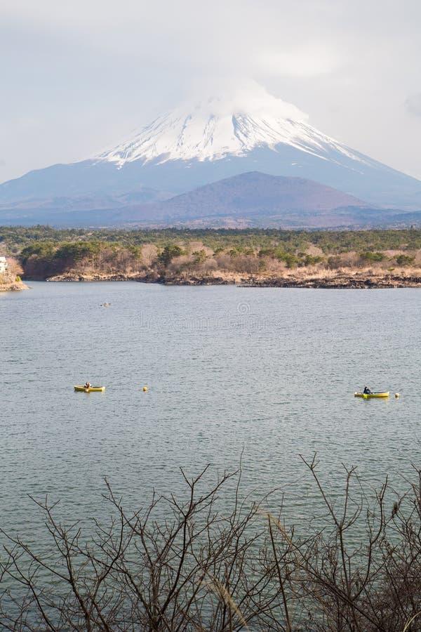 Fujisan e Shoji do lago fotos de stock royalty free