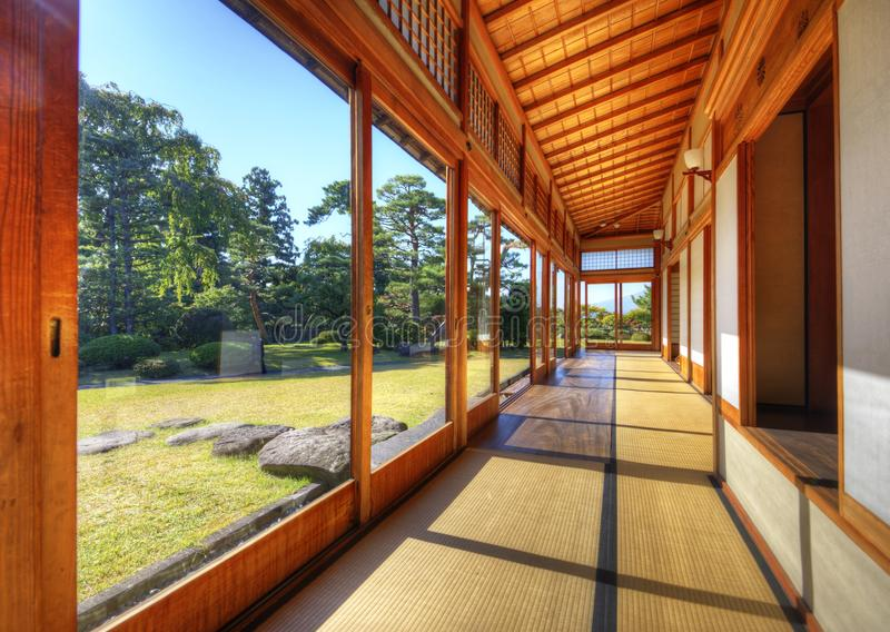 Fujita Memorial Japanese Garden royalty free stock photography